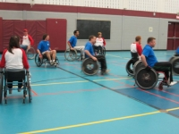 Wheelchair Basketball Team