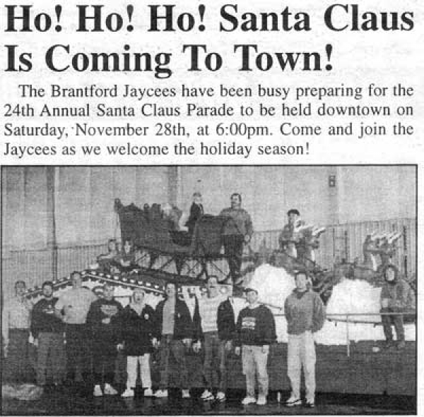 Annual Santa Claus Parade